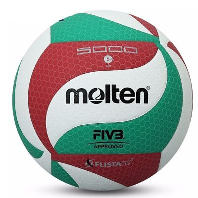 Molten V5M5000 Volleyball Ball Size5 PU Leather Soft Touch Indoor Outdoor Game 3