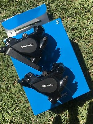 Shimano BR-RS505 Hydraulic Disc Brake Calipers Front And Rear.