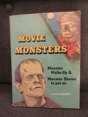 1975 Movie Monsters Paperback Book by Alan Ormsby
