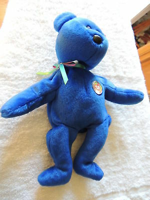 TY Original Beanie Baby~1998 Clubby Bear~Offical Club~The Beanie Babies Collecti