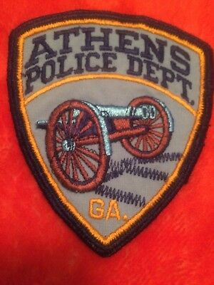 Athens  Police GA   Police Patch