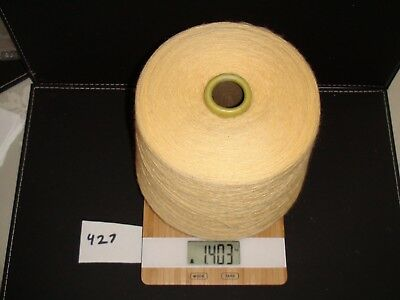Knitting Machine Yarn On Cone 2 Ply Buttercup Wool 1403G