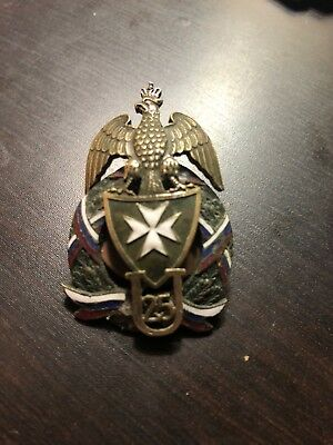 Ww2 Polish Style Uhlan 25 U25 Army Insignia Badge