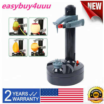 Automatic Electric Potato Peeler Apple Quick Pear  Fruit Cutter Slicer Peel Tool