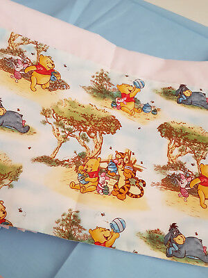 Bassinette / Cradle Sheet Set Winnie The Pooh # 3 -  New