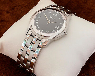 db14c9ef0c5 GUCCI 5500 ALL Stainless Steel Men Watch