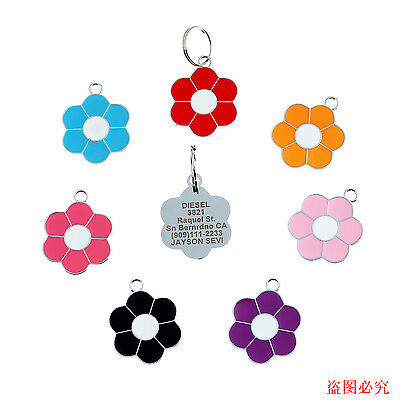 Good Quality Dog Cat Pet ID Tags Disc Dog Cat Charm Tag - Engraved Free