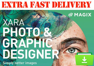 MAGIX Xara Photo & Graphic Designer 15 - DIGITAL DOWNLOAD LINK ONLY Best Price