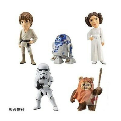 Star Wars World Collectable Figures Vol.7 Whole Set Of 5F//S
