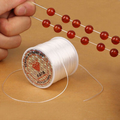 10M DIY Jewelry Making Elastic Beading Thread Stretch Polyester String Cord