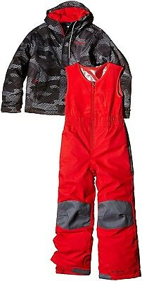 (Size 6/12, Multicoloured (Black/Grey/Red)) - Columbia Babies Buga Thermal Sets