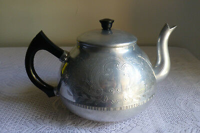 Vintage Swan Brand The Carlton 8 Cup Teapot Made in England
