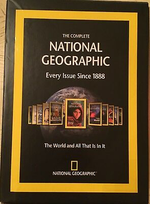 The Complete National Geographic Every Issue Since 1888 6 Dvd-Rom Set Window/Mac