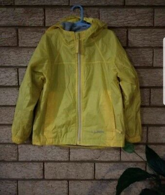 L.L. Bean Kids Rain Jacket Size 5-6