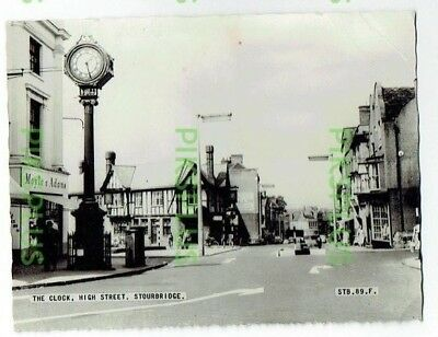 Postcard The Clock Tower Stourbridge Worcs Frith's Real Photo Vintage Used 1966