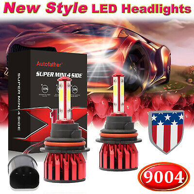 2018 New 9004 HB1 CREE 2000W 320000LM LED Headlight Hi-Lo Beam Bulb Super Bright