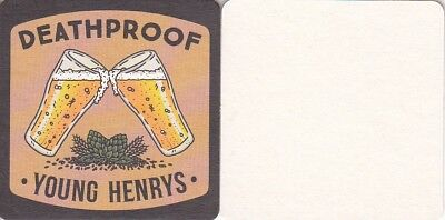 Young Henrys - Deadproof Square Australian Beer Coaster - Beer Mat