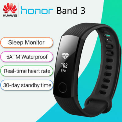 HUAWEI Honor Band 3 Smartband Heart Rate Monitor Pedometer Phone Call Reminder