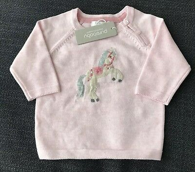 Pure Baby BabyGirl Carousel Pony Jumper Size 12-18 Months RRP$59.95