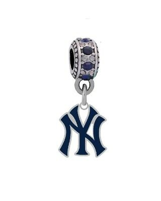 New York Yankees Logo Charm. Final Touch Gifts. Free Shipping