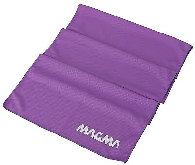 (Purple) - MAGMA Cooling Fitness Towel - Sweat Less - Evaporates to Stay Chill