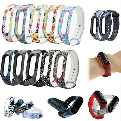 For Xiaomi Mi Band 3 Wrist Band Replacement Printing Strap Wristband Bracelet