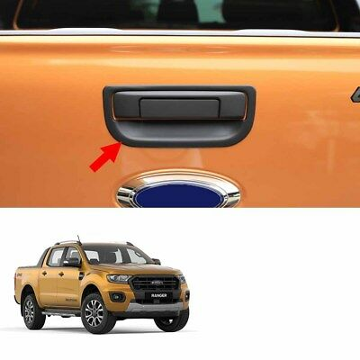 Matte Black Bowl Tail Gate Tailgate Cover Fits Ford Ranger Wildtrak 2018 - 2019