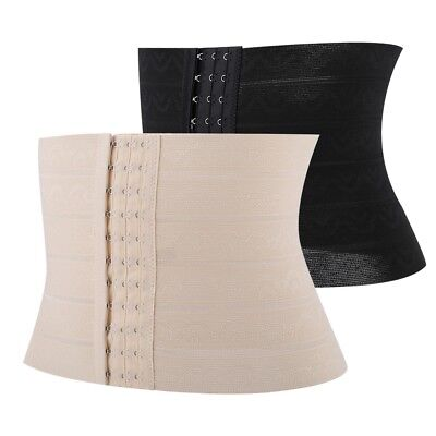 Women Postpartum Belly Recovery Girdle Tummy Wrap Corset Body Shaper Belt Band