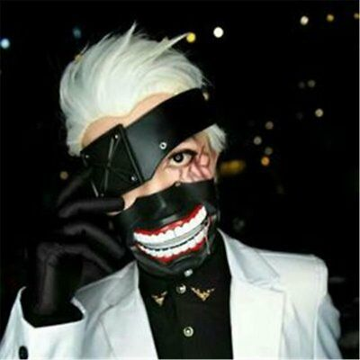 Tokyo Ghoul Ken Kaneki Anime Adjustable Maske Mundschutz Cosplay Halloween Party