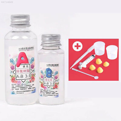 5C22 Material Set Tools High Transparent GSS Epoxy Resin AB Glue