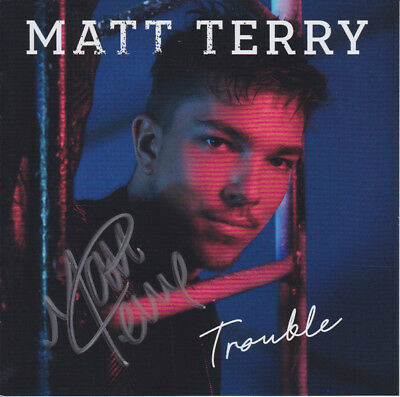 Matt Terry - Trouble - CD (2017) - Brand NEW and SEALED
