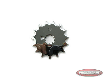 Ritzel Chrom 15 Zähne Puch Maxi MV VS DS Mofa Moped Front sprocket