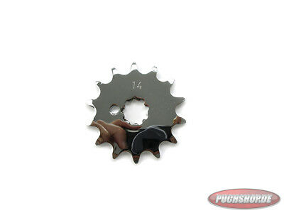 Ritzel Chrom 14 Zähne Puch Maxi MV VS DS Mofa Moped Front sprocket