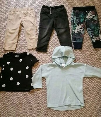Mixed Lot Of Toddler Boys Size 2 Clothes. Bonds, Carters, Cotton On