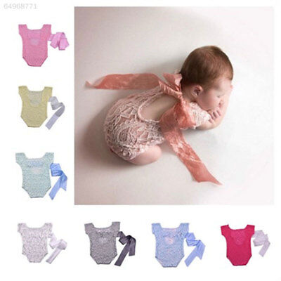 24F4 Newborn Photography Props Lovely Lace Photography Newborn Baby Posing