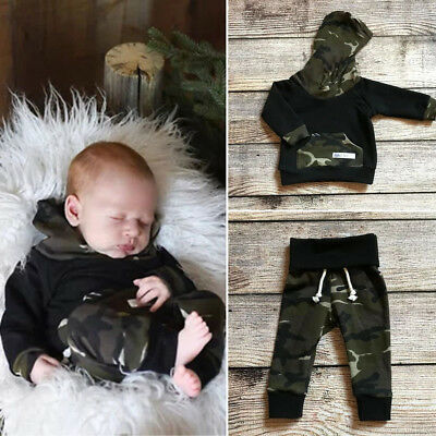 USA Kids Toddler Baby Boys Batman Hooded Tops Coat Pants Outfits Clothes 0-2T