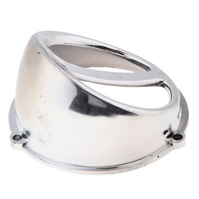 Fan Cover Air Scoop Cap GY6 125/150cc Scooter 152QMI 157QMJ Engine Silver
