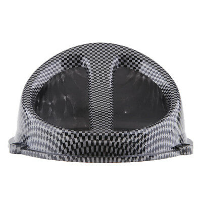 Carbon Fiber Color Air Scoop Fan Cover Cap for GY6 125/150cc Engine Scooter