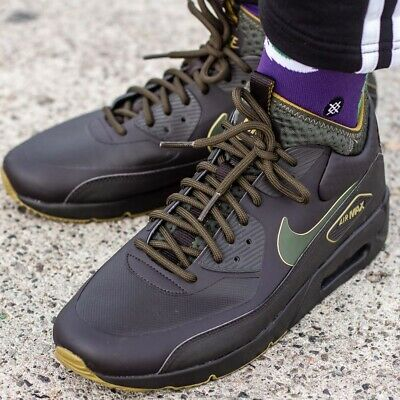new product fb959 7dba3 NIKE AIR MAX 90 ULTRA MID sneaker chaussures hommes montantes dhiver  AA4423-200