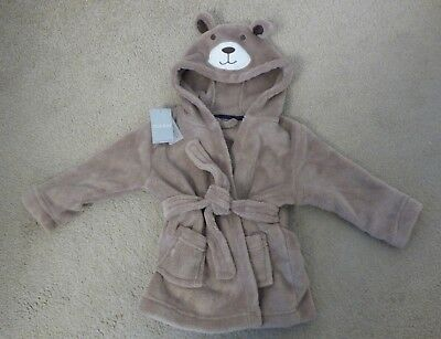 Boys dressing gown 9-12 months BRAND NEW with tags PET&SMOKE FREE HOME