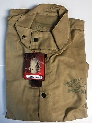 Revco BSX BXTN9C Khaki FR Welding Jacket (Medium)