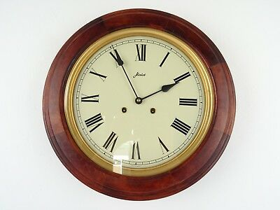 HAID Vintage Antique 8 day German Wall Gong Clock (Kienzle Hermle Junghans era)