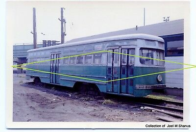 First PCC from Clark Equipment Co. 1936 at Coney Island Yar Original Color Print