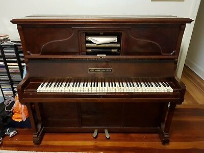 1930's era pianola (player piano) in great condition and recently tuned