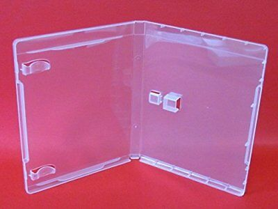 25 pcs USB Flash Drive Case, Standard 14mm DVD Case, Super Clear