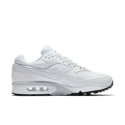 sports shoes ef325 8badb Men Nike Air Max BW White White White 881981 100 Size  UK 7
