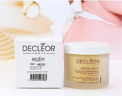 Decleor Aromessence Night Balm Iris Rejuvenating 100ml #da