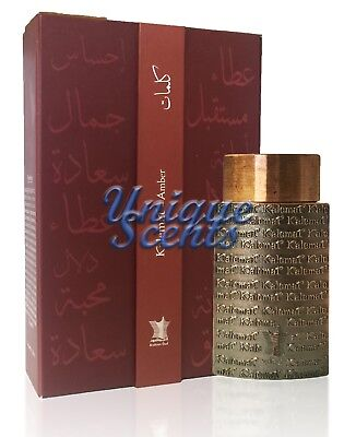 f89da9257 Kalemat Amber by Arabian Oud - 20ml Oil Based Perfume Attar - Brand New &  Sealed