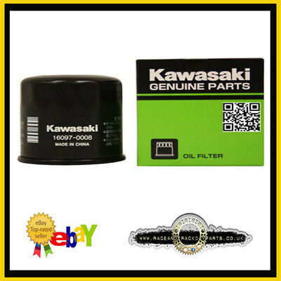 Kawasaki Genuine Oil Filter ZX6R/ZX10R/ZX12R -  Part number 16097-0008. (HF303)