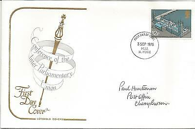 GB FDC 1975 62nd INTER-PARLIAMENTARY CONFERENCE-COTSWOLD COVER